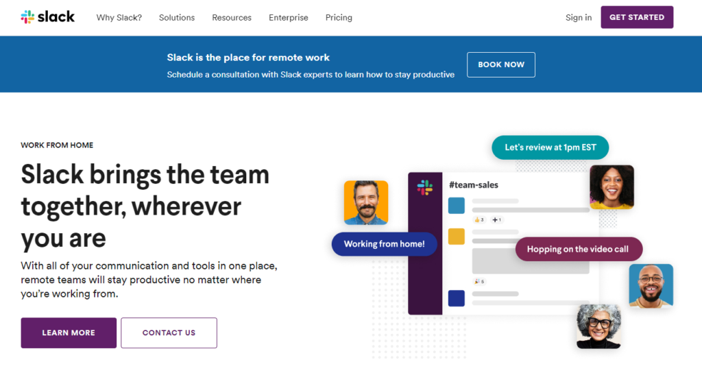 Slack: Online Tool for Remote Workers