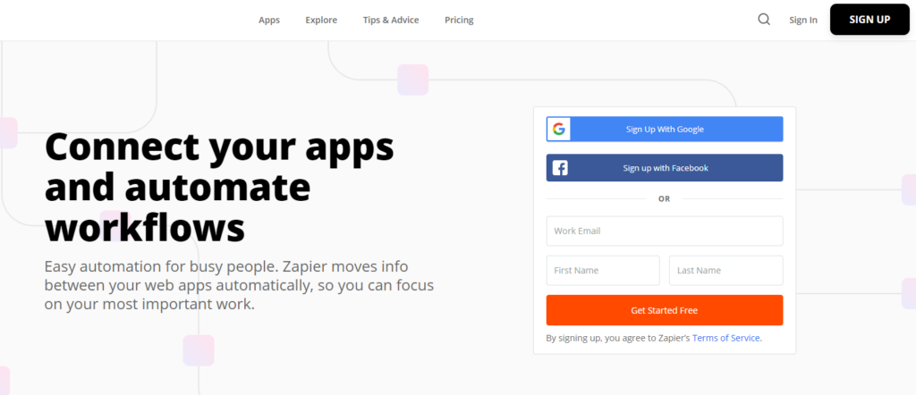 Zapier: Online Tool for Remote Workers